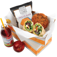 A healty lunch will be provided by Au Bon Pain
