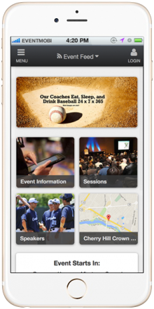 Check out our mobile event app for iPhone and Android.